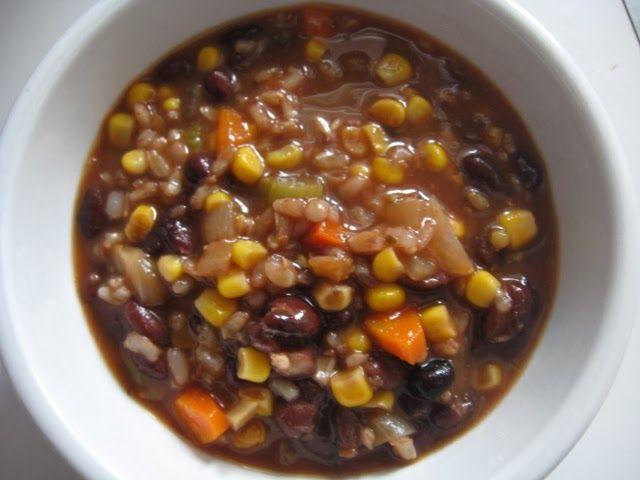 Black Bean Vegetable Soup | Favorite Recipes | Pinterest