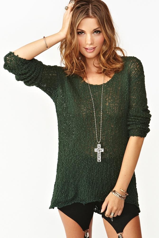 Rogue Sweater Knit - Long Sweater Jacket