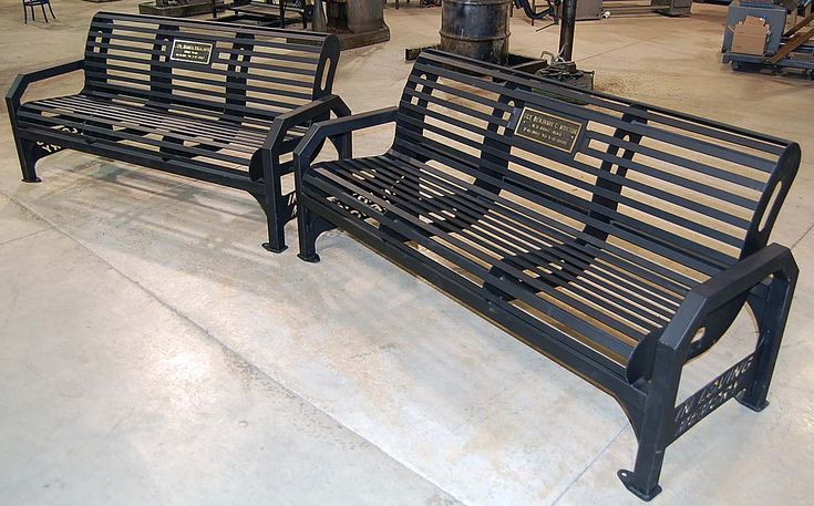 ... Students Free metal park bench plans woodworking community projects