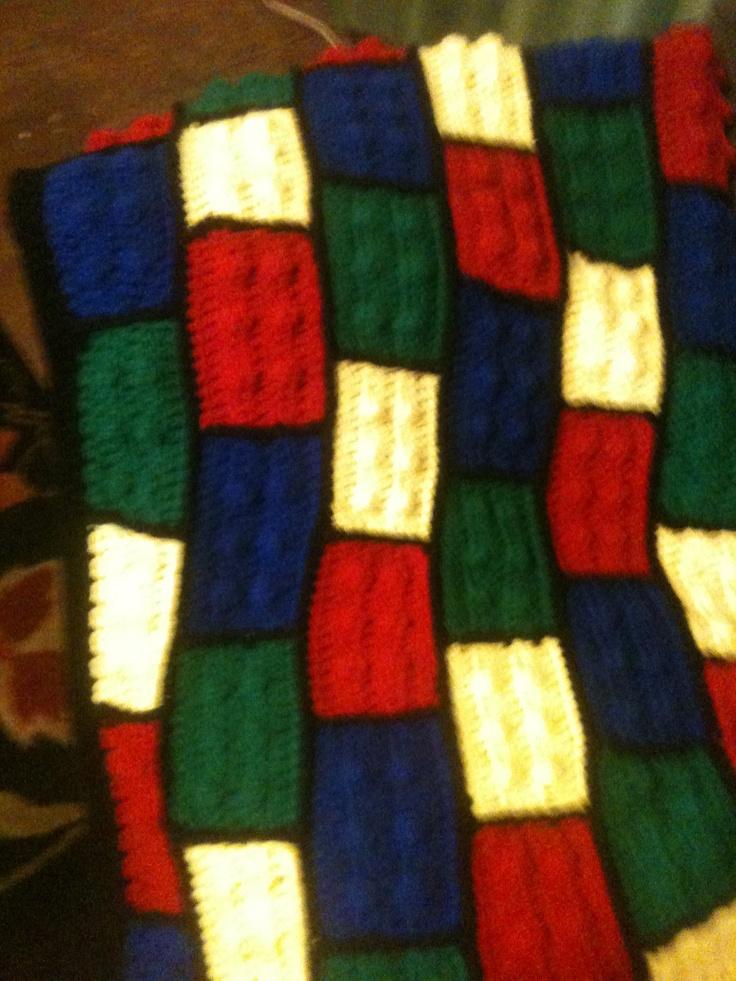 Lego afghan