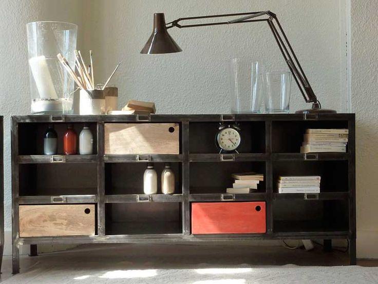 Produit Intrieur Brut: Deco vintage, meuble de style industriel pour