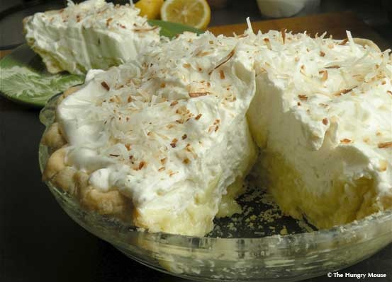 Coconut custard pie....I will be making this one very soon. ss