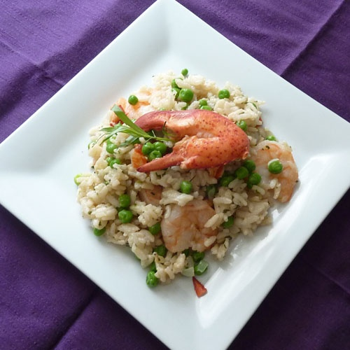 ... risotto with sweet peas shrimp risotto with sweet peas and leeks