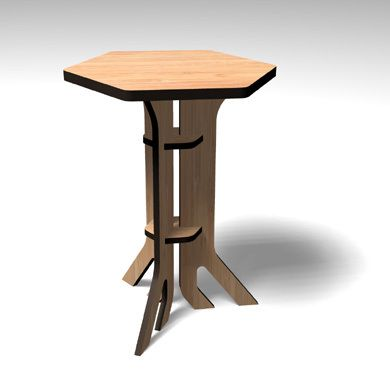 free plans for cardboard table | Do It Yourself Today ...