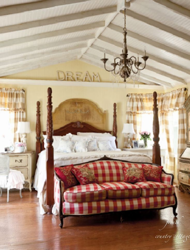 French country cottage hearts at home bedrooms ideas pinterest - Images of french country bedrooms ...