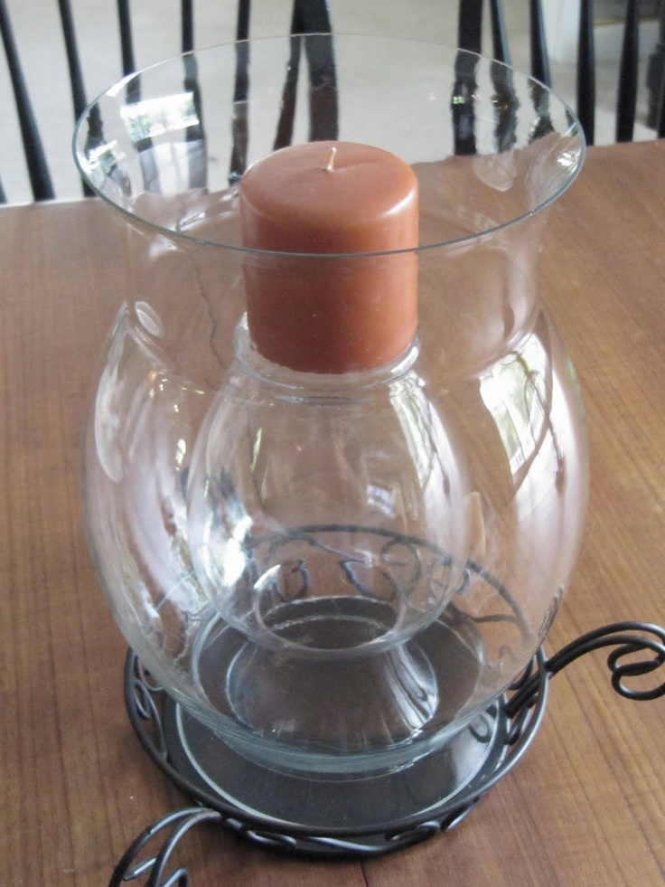 Brilliant nd vase upside down