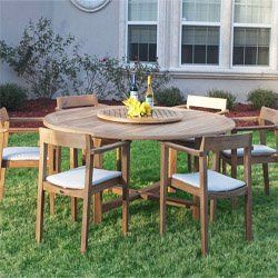 Buckingham Horizon Teak Patio Dining Set by Westminster Teak. $7495.00