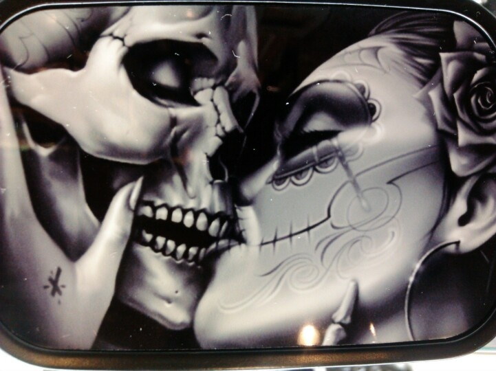 Gallery For gt Day Of The Dead Couple Kissing Tattoo
