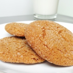 Molasses Cookies by CookingRookie | Christmas Cookies | Pinterest