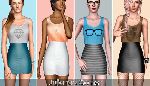 Sims 3 Custom Content Clothes