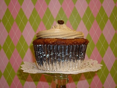 Marbled coffee liquer cupcakes with espresso buttercream frosting ...