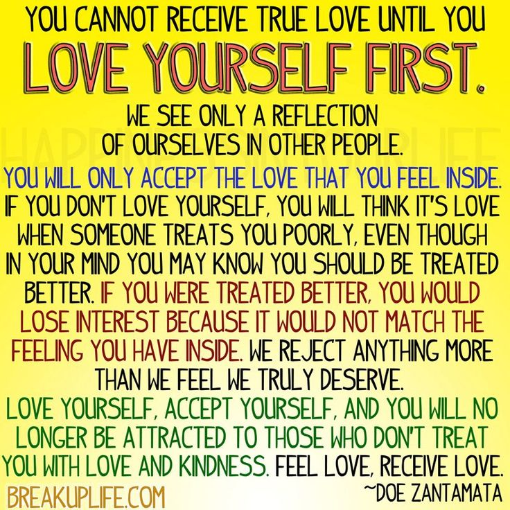 love yourself first quotes pinterest