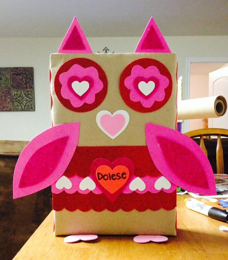 valentine box 21