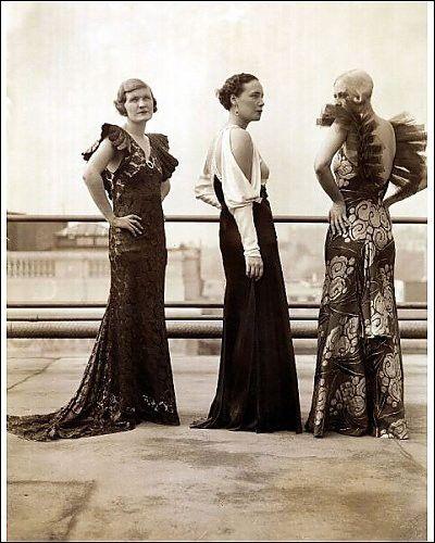 evening dresses 1930 s vintage fashion