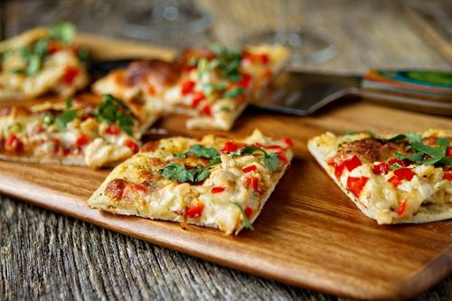 Spicy Chicken and Pepper Jack Pizza | DELISH! | Pinterest