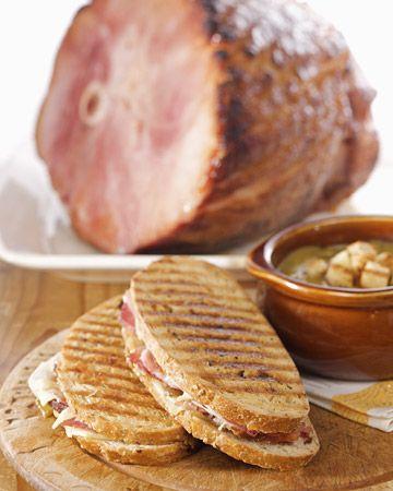 Ham-and-Cheese Panini - Martha Stewart Recipes