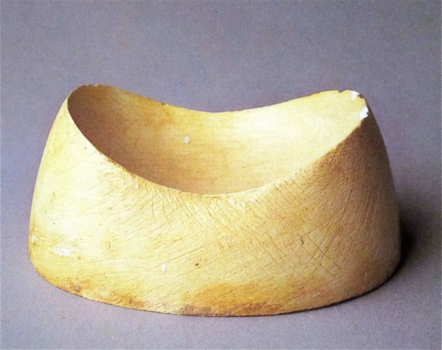 Isamu Noguchi Untitled Study for a Saucer Plaster 1955-65 Collection ...