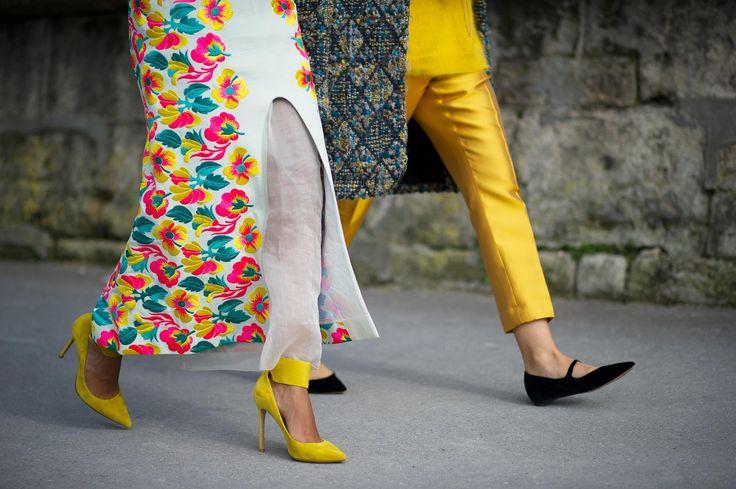Gianvito Rossi heels. Street Style.