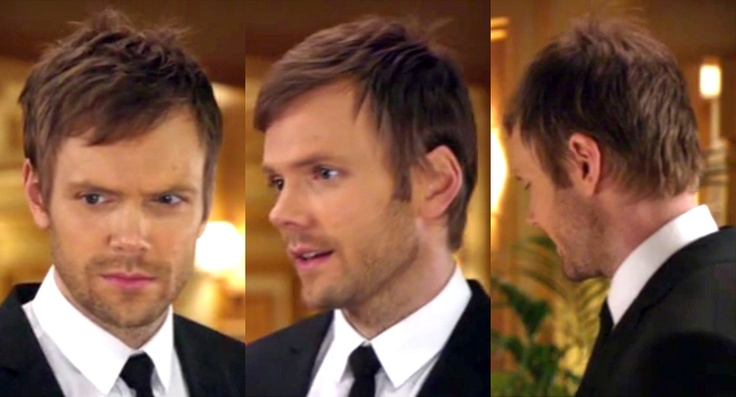 joel mchale haircut hair men pinterest