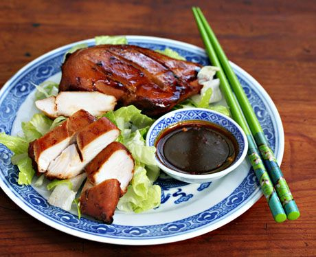 ... with the salty, spicy, sweet taste of this Penang-style baked chicken