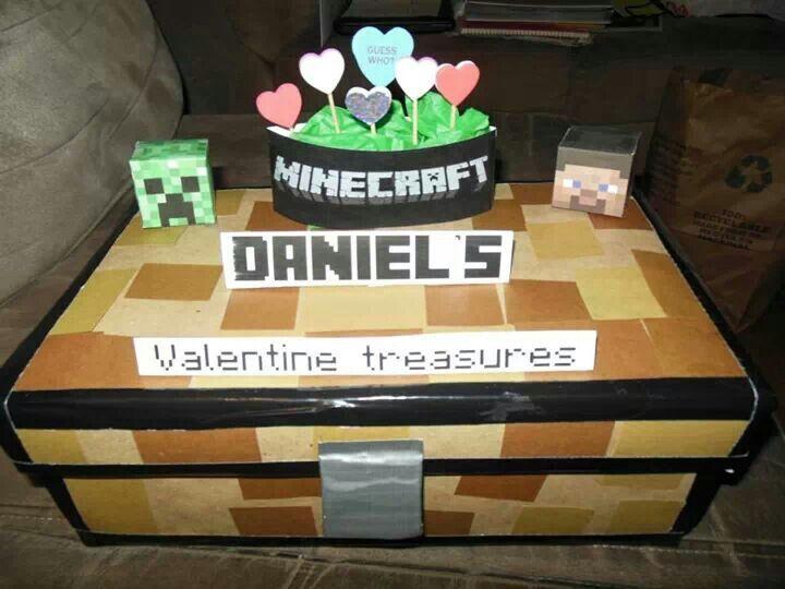 valentine box that looks like a dog
