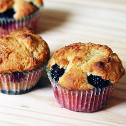 ... of the blackberry inside, these muffins are absolutely addictive