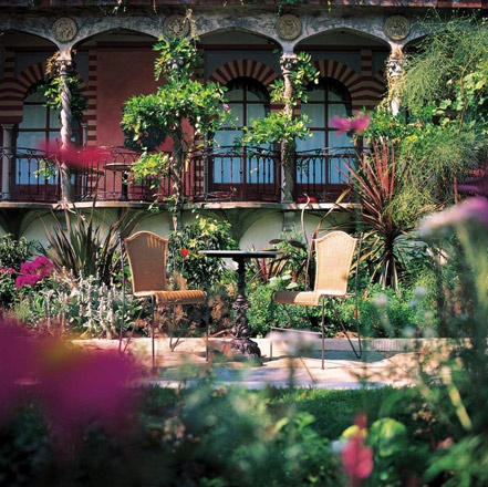 Spanish garden lovely ideas pinterest for Spanish garden designs