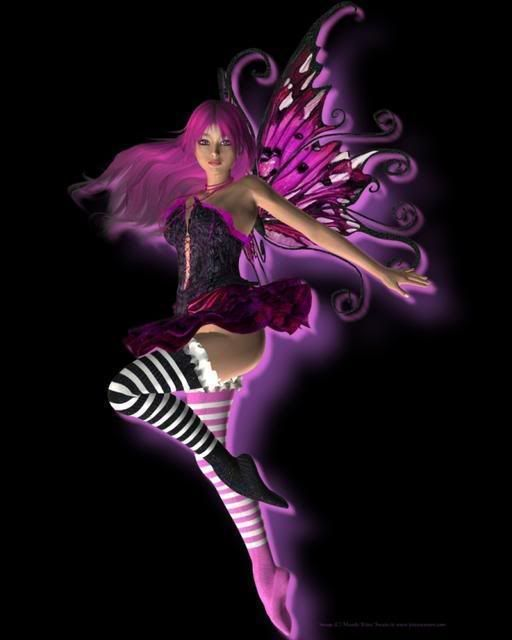 Emo Fairies  Fairy Pinterest