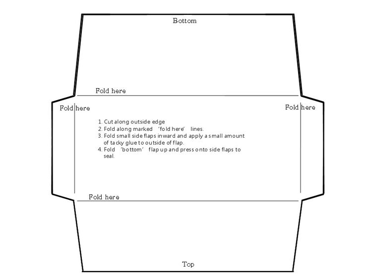 money envelope template