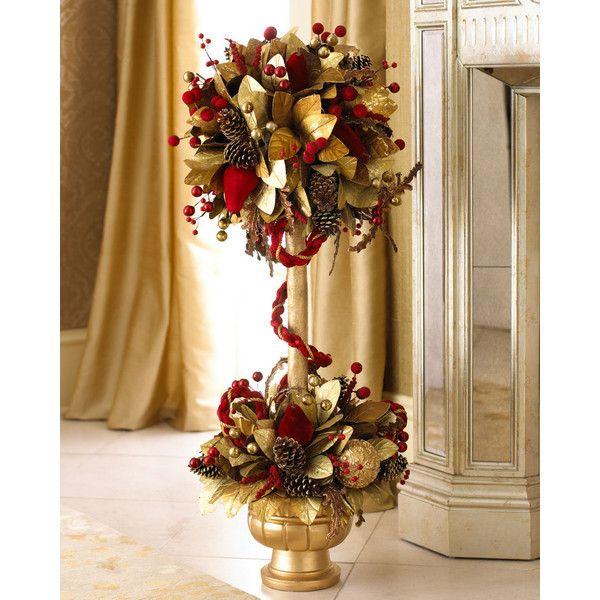 Crimson Christmas Topiary My Favorite Christmas Things