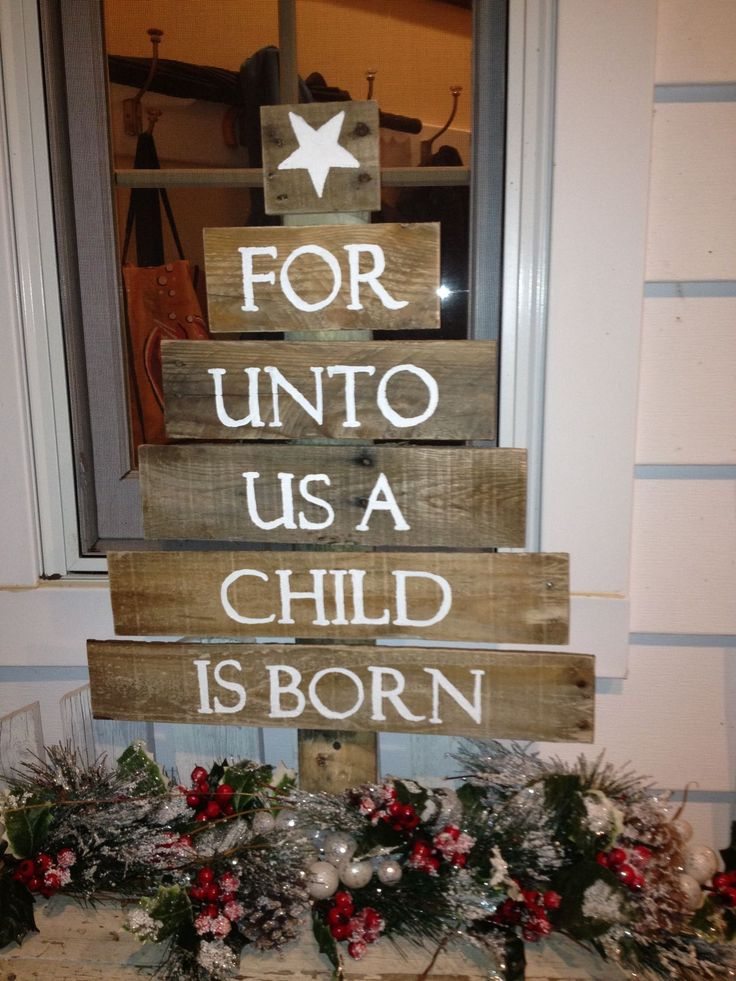 easy pallet christmas ideas