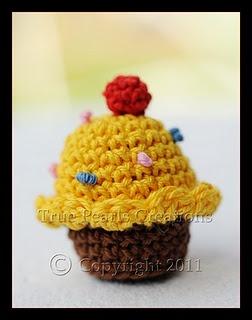 Mini Cupcake | Crochet Free Pattern