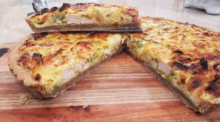 Tarta De Pollo Panceta Y Puerro Recetas Cocineros