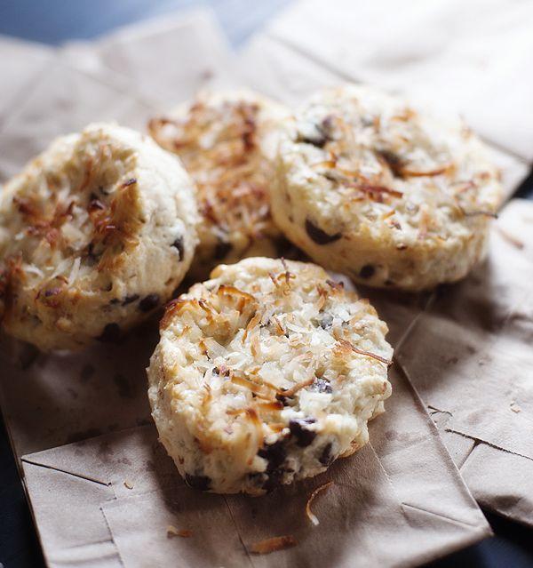 chocolate coconut scones | Scones | Pinterest
