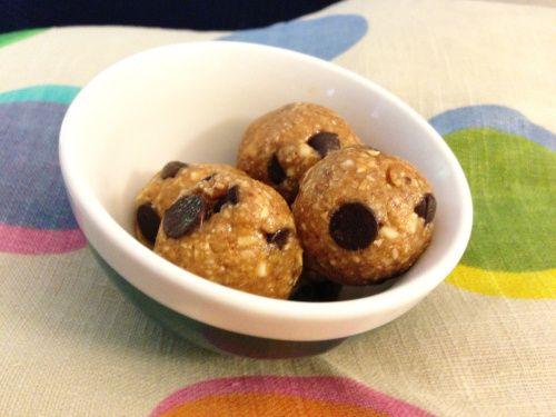 Raw Vegan Cookie Dough Bites | Raw Food | Pinterest