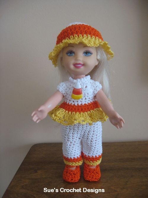 Crochet Kelly Doll Clothes $$$ Barbie Outfits 1 Pinterest