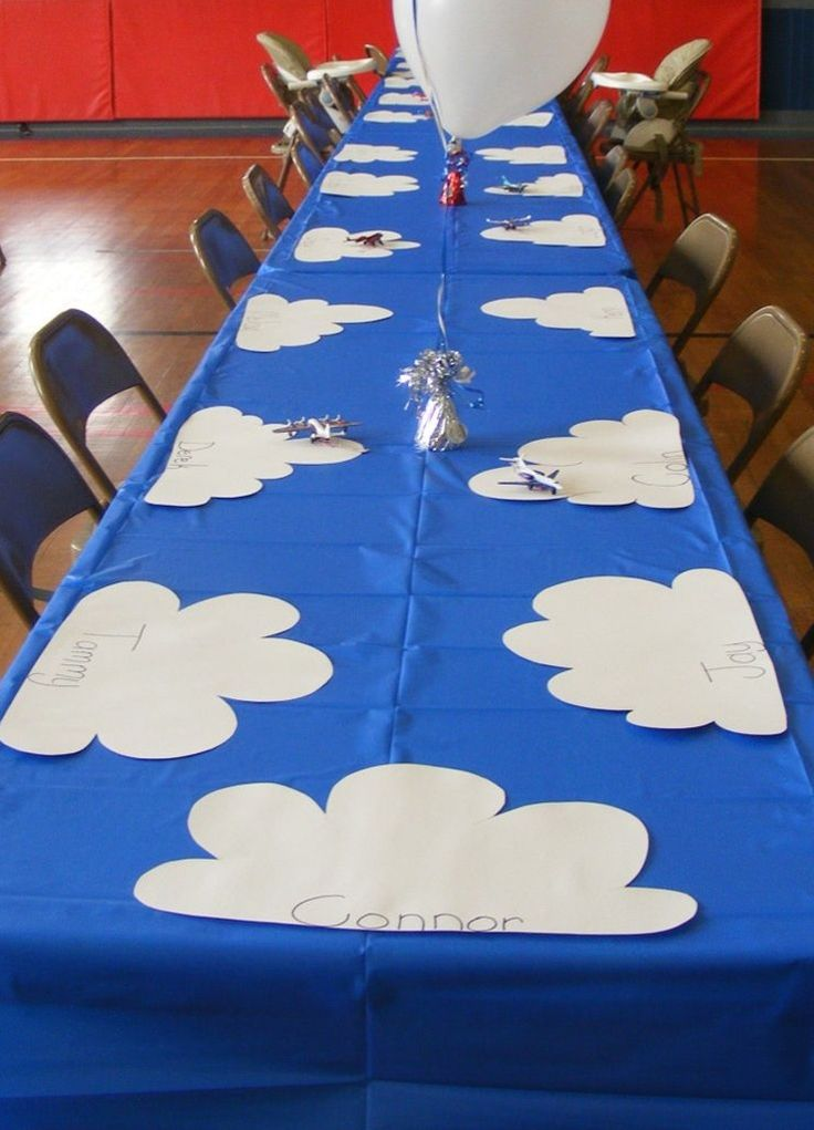 Airplanes Birthday Party  Party On  Pinterest
