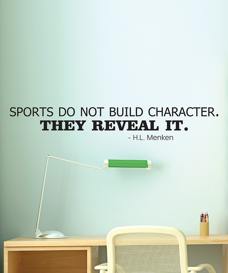 sports and character Sports, youth and character: a critical survey robert k fullinwider institute for philosophy & public policy university of maryland  rkf@umdedu.