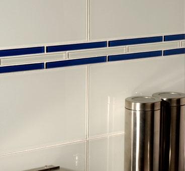 clear glass border tiles backsplash pinterest