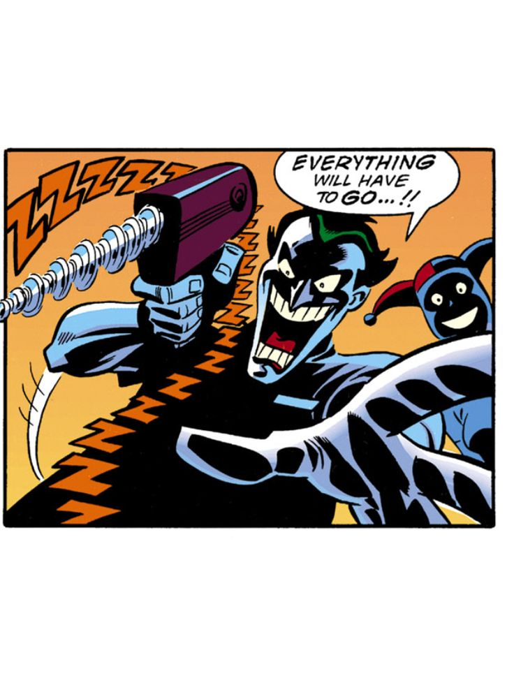 Joker and harley quinn bruce timm really. was