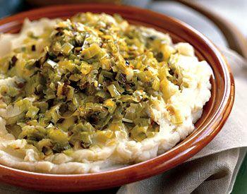 Mashed Potatoes with Garlic, Mascarpone, and Caramelized Leeks | Reci ...
