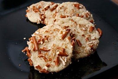 Pretzel Sugar Cookies. Mmmm,so good