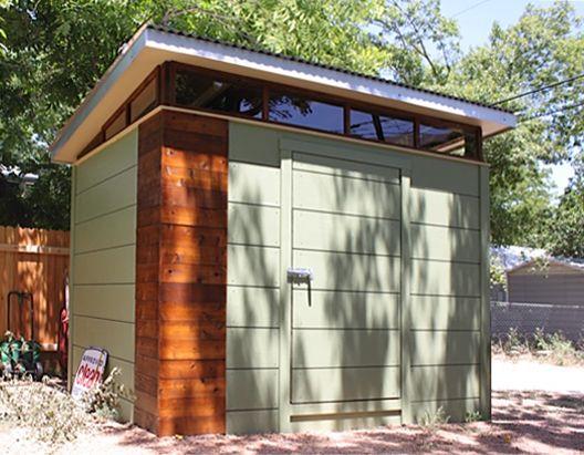 Kanga prefab modern shed kit case study pinterest for Prefab garden house