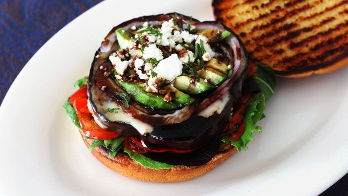 Grilled Eggplant Burgers . Kitchen Explorers . PBS Parents | PBS