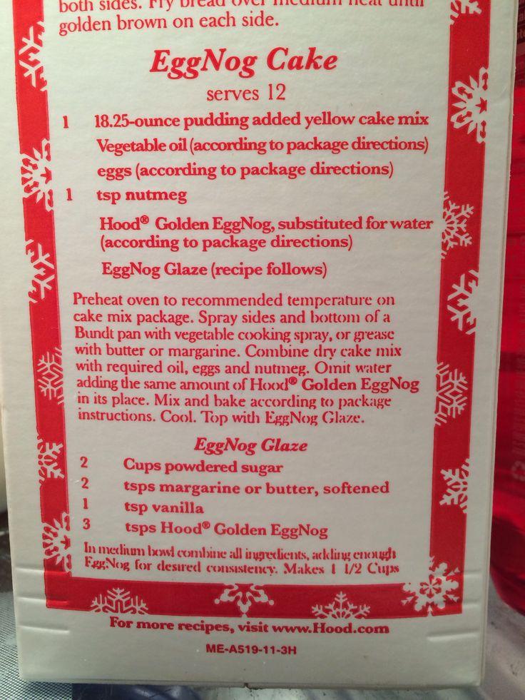 cake whipped eggnog loaf cake eggnog pound cake with crystal rum glaze ...