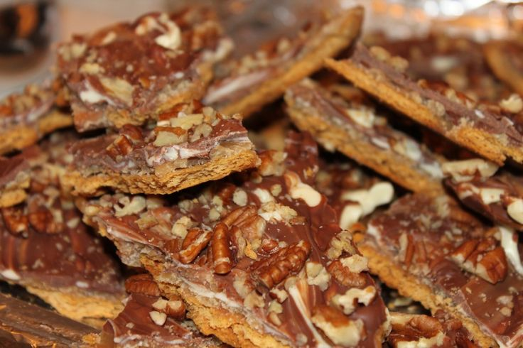 Heather's Toasted Pecan Toffee Recipe — Dishmaps