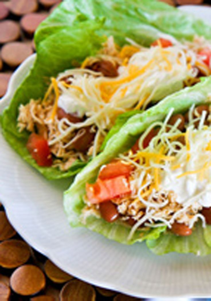 Slow-Cooker Chicken Tacos | Foods made simply 4me by me | Pinterest