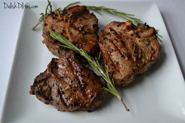 Garlic & Rosemary Grilled Lamb Chops | Recipe