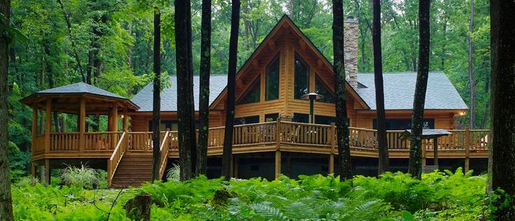 Katahdin Cedar Log Homes I Love Pinterest