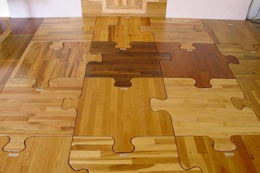 puzzle piece wood flooring house o holloway pinterest